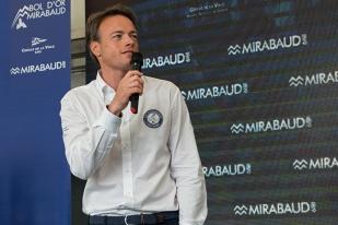 """Rodolphe Gautier, Président du Bol d'Or Mirabaud: """"Le sens marin et lacustre est bien présent"""". Photo: Oreste Di Cristino"""