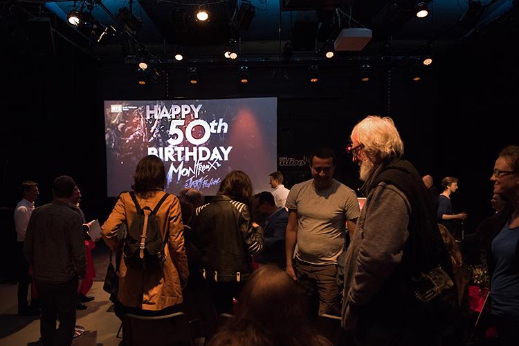 50 ans de fête et d'amitié entre la RTS et le Montreux Jazz Festival. © Oreste Di Cristino