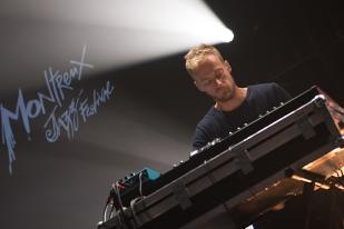 Alf Godbolt, au clavier, sur la scène du Montreux Jazz Lab. © Oreste Di Cristino