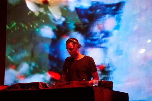 Laolu en démonstration au Montreux Jazz Lab. © 2016 FFJM Daniel Balmat