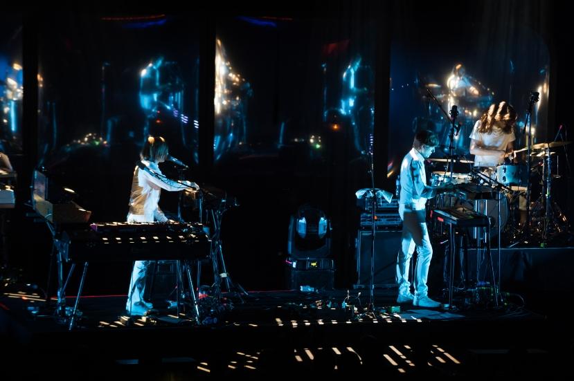 Air au Montreux Jazz Festival. © Lionel Flusin