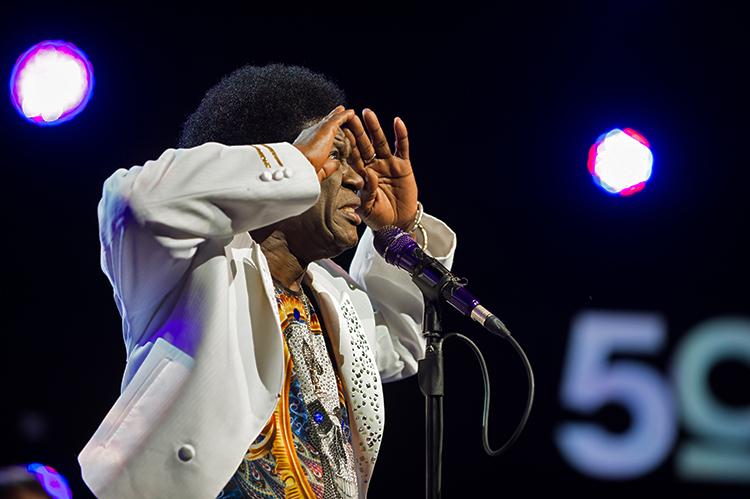 Charles Bradley au Montreux Jazz Festival. © Lionel Flusin