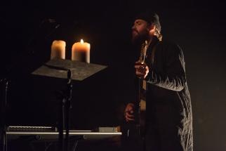 Ry Cuming (RY X) sur la scène du Montreux Jazz Lab. © Oreste Di Cristino