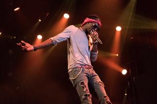 Young Thug en scène au Montreux Jazz Lab. © Oreste Di Cristino