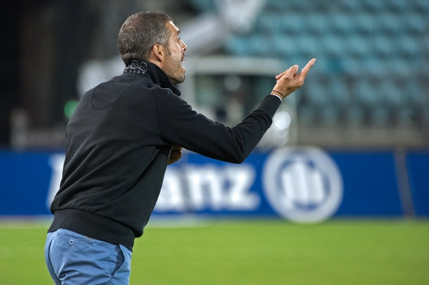 Fabio Celestini regrette une défaite imméritée. Mais le travail continuera à Lucerne samedi. © Oreste Di Cristino