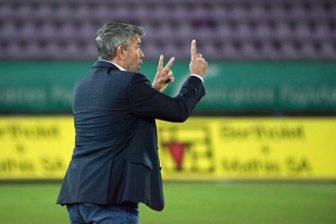 Urs Fischer a opéré à un changement tactique impérial pour s'imposer contre un vaillant FC Lausanne-Sport à la Pontaise. © Oreste Di Cristino