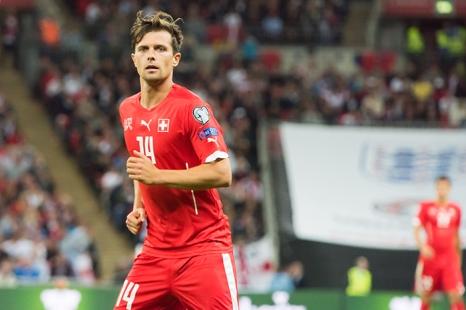 Valentin Stocker refera (peut-être) son apparition avec le maillot de l'équipe de Suisse. © Oreste Di Cristino