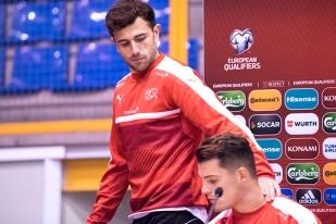 Admir Mehmedi reste confiant et calme avant la rencontre de lundi face à Andorre. Il suffira de ramener trois points au compteur de cette équipe de Suisse. © Oreste Di Cristino.