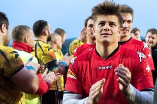 Silvain Hirsch et les siens fêtent cette première victoire européenne de la saison. © Oreste Di Cristino