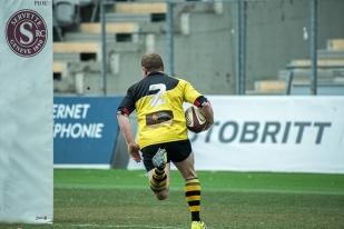 Vistoli valide le seul essai belleysan au Stade de Genève (67e). © Oreste Di Cristino / leMultimedia.info