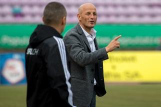 Peter Zeidler (Sion): « Quoique l'on dise, je dirais que notre victoire était méritée. » © Oreste Di Cristino / leMultimedia.info
