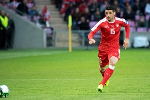 Blerim Dzemaili: « Je connais la difficulté de faire un retour réussi en équipe nationale. » © Oreste Di Cristino / leMultimedia.info
