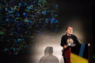 Jacques Monnier, programmateur du Paléo Festival, annonce les premiers artistes de la 42e édition. © Yves Di Cristino / leMultimedia.info