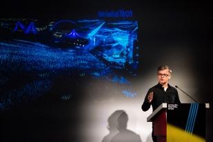 Dany Hassenstein, co-programmateur du Paléo Festival, poursuit le dévoilement de la programmation de la 42e édition. © Yves Di Cristino / leMultimedia.info