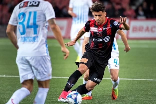 Pedro Teixeira a dynamisé l'attaque xamaxienne à son entrée à la 72e minute. Il s'est porté auteur de l'égalisation face au FC Zürich en fin de match (87e). © Oreste Di Cristino / leMultimedia.info