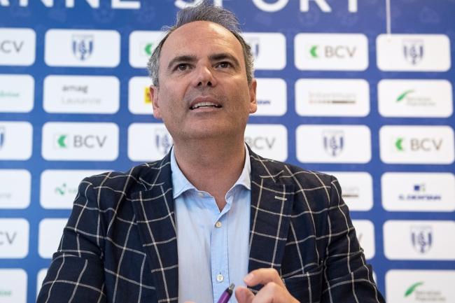 Jean-François Collet, CEO de Grand Chelem Event SA, loue un projet novateur pour la marque du Lausanne-Sport. © Oreste Di Cristino / leMultimedia.info