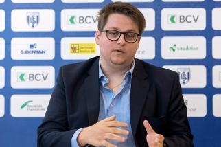 Frédéric Boy, alias Torrix, joueur d'Overwatch et Président du Lausanne-Sport eSports, se dit heureux de la progression du sport électronique à Lausanne et en Suisse. © Oreste Di Cristino / leMultimedia.info