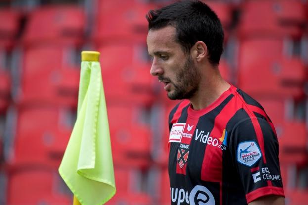 Raphaël Nuzzolo: « Nous souhaitions marquer dans les quinze première minutes, c'était très important. » Mission réussie ! © Oreste Di Cristino / leMultimedia.info