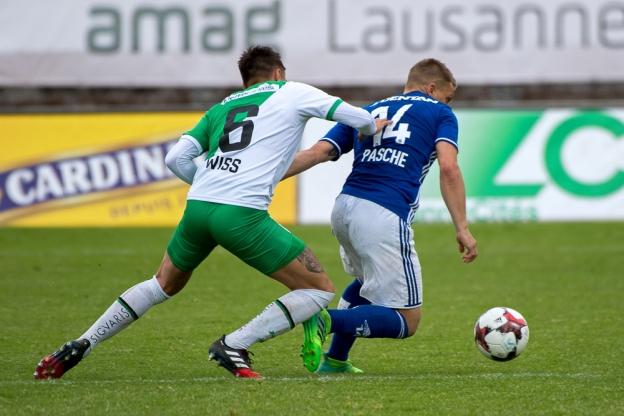 Alexandre Pasche en est conscient, c'est l'histoire du club qui est en jeu. © Oreste Di Cristino / leMultimedia.info
