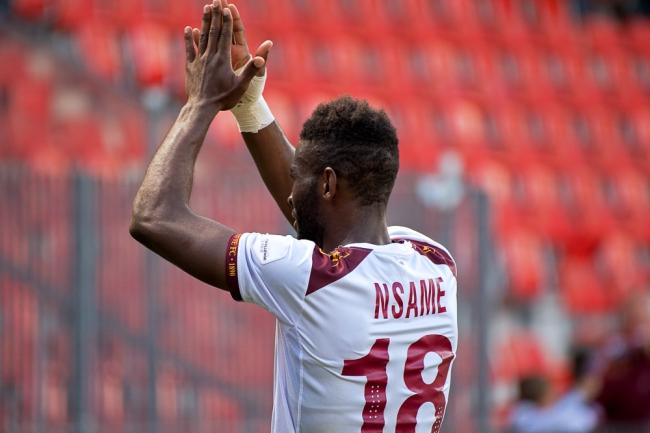 Jean-Pierre Nsame n'a plus marqué depuis quatre matches. Une disette inhabituelle pour le meilleur buteur du championnat (21 buts). © Oreste Di Cristino / leMultimedia.info