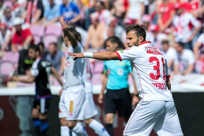 Elsad Zverotic ne regrette pas le match du FC Sion mais déplore un manque d'efficacité par moments. © Oreste Di Cristino / leMultimedia.info