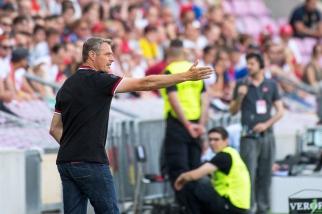 La tâche de Sébastien Fournier s'avérait immense mais rien ne lui est reproché au terme de cette finale de Coupe de Suisse. © Oreste Di Cristino / leMultimedia.info