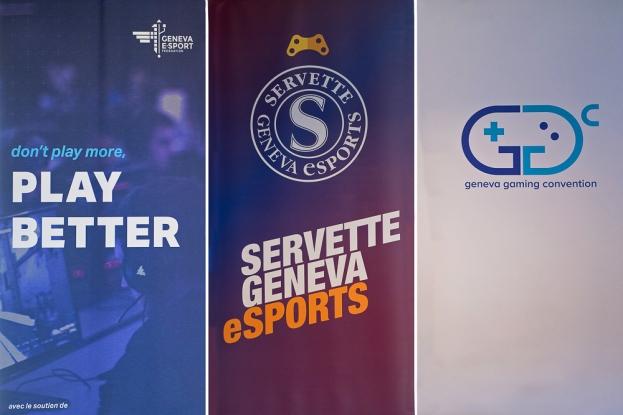 La convergence des dynamiques entre la Fédération Cantonales Genevoise de eSport (Geneva E-Sport), le Servette Geneva eSport et la Geneva Gaming Convention (GGC). © Oreste Di Cristino / leMultimedia.info