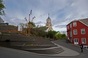 La cathédrale de Tórshavn, illustre monument de la religion évangélique du lieu. © Oreste Di Cristino / leMultimedia.info