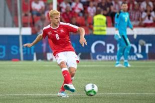 Remo Freuler séduit à la Maladière pour sa deuxième sélection avec la Suisse. © Oreste Di Cristino / leMultimedia.info