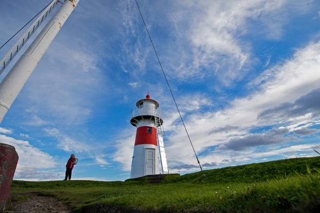 La Skansin Fortress à Tórshavn, monument symbolique du port de la capitale des Îles Féroé. © Oreste Di Cristino / leMultimedia.info