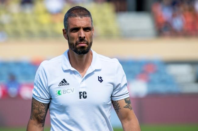 Fabio Celestini n'est pas moins satisfait du match de ses joueurs. © Oreste Di Cristino / leMultimedia.info