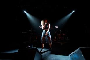 Danitsa à son entrée en scène au Montreux Jazz Festival. © Oreste Di Cristino / leMultimedia.info
