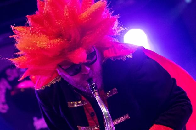 Demis au saxophone ténor. © Oreste Di Cristino / leMultimedia.info