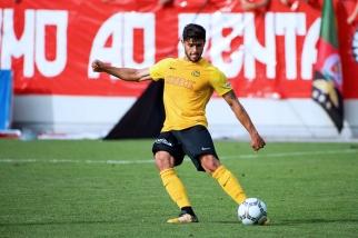 Loris Benito s'entraîne dur pour retrouver les bons chemins en Super League avec Young Boys. © Oreste Di Cristino / leMultimedia.info