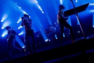 Le plateau du groupe Phoenix à l'Auditorium Stravinski, samedi 1er juillet 2017. © Oreste Di Cristino / leMultimedia.info