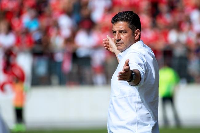 Entraîneur du Benfica Lisbonne depuis 2005, Rui Vitória concourra à nouveau pour un titre de champion du Portugal. © Oreste Di Cristino / leMultimedia.info
