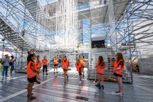 Le projet Smooth Vulcano développé par les hautes écoles de la HES-SO des cantons de Genève, Fribourg et Vaud. © Oreste Di Cristino / leMultimedia.info