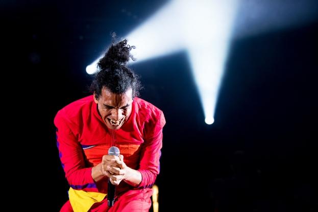 Walter Hernandez se dédie à la musique hip-hop et afroaméricaine en Colombie depuis 1989. © Oreste Di Cristino / leMultimedia.info