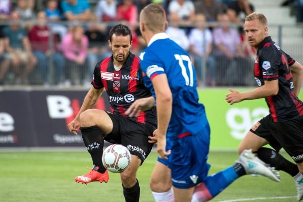 Raphaël Nuzzolo est convaincu de la très bonne préparation estivale de Neuchâtel Xamax FCS. © Oreste Di Cristino / leMultimedia.info
