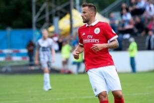 Haris Seferovic a marqué son premier but pour son premier match sous les couleurs du SL Benfica. © Oreste Di Cristino / leMultimedia.info