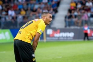 Guillaume Hoarau aura bien terminé ses 45 miinutes de jeu face à Stoke City. © Oreste Di Cristino / leMultimedia.info