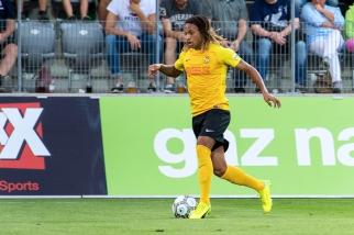 Kévin Mbabu, qui a signé un contrat de trois saisons avec Young Boys, sera sans doute le latéral droit titulaire à Berne. © Oreste Di Cristino / leMultimedia.info