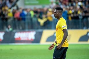 Entré à la 77e minute, Jordan Lotomba a cherché à se procurer une place au sein de sa nouvelle équipe. © Oreste Di Cristino / leMultimedia.info