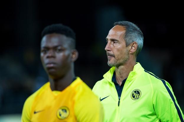 Jordan Lotomba ne fait actuellement pas partie du onze de base d'Adi Hütter mais l'ancien latéral du FC Lausanne-Sport travaillera pour intégrer les plans de son nouvel entraîneur. © Oreste Di Cristino / leMultimedia.info