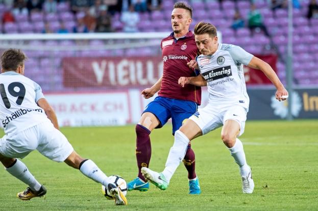 Sébastien Wüthrich a mené Servette dans le droit chemin mercredi soir au Stade de Genève. © Oreste Di Cristino / leMultimedia.info