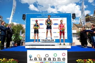 Le podium masculin. © Oreste Di Cristino / leMultimedia.info