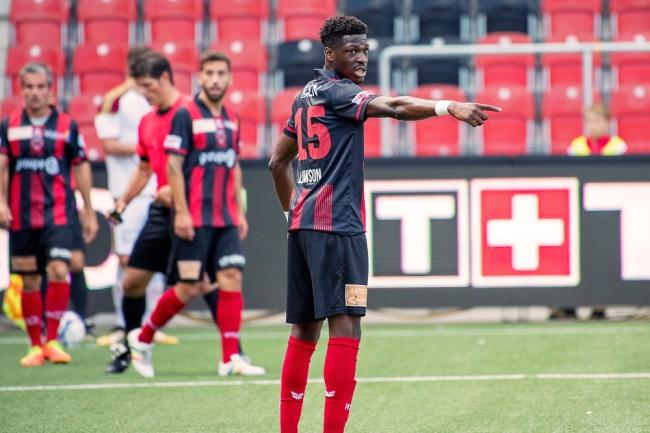 Steve Lawson a fait son apparition à la pause au Stade de la Maladière face au FC Vaduz. © Oreste Di Cristino / leMultimedia.info