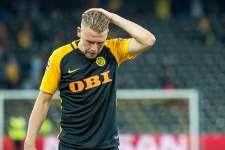 Yoric Ravet regrette la fin de match des Young Boys. La tâche sera dure à Moscou le 23 août. © Oreste Di Cristino / leMultimedia.info
