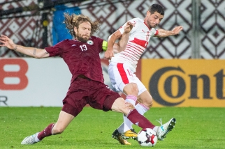 Blerim Dzemaili a d'abord raté un pénalty (31e) avant de marquer le 2-0 peu avant l'heure de jeu (54e). © Oreste Di Cristino / leMultimedia.info