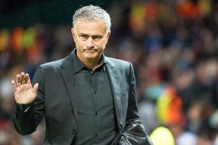 José Mourinho a pu compter finalement sur la présence de Marouane Fellaini, d'abord jugé incertain, et finalement buteur à la 35e. © Oreste Di Cristino / leMultimedia.info